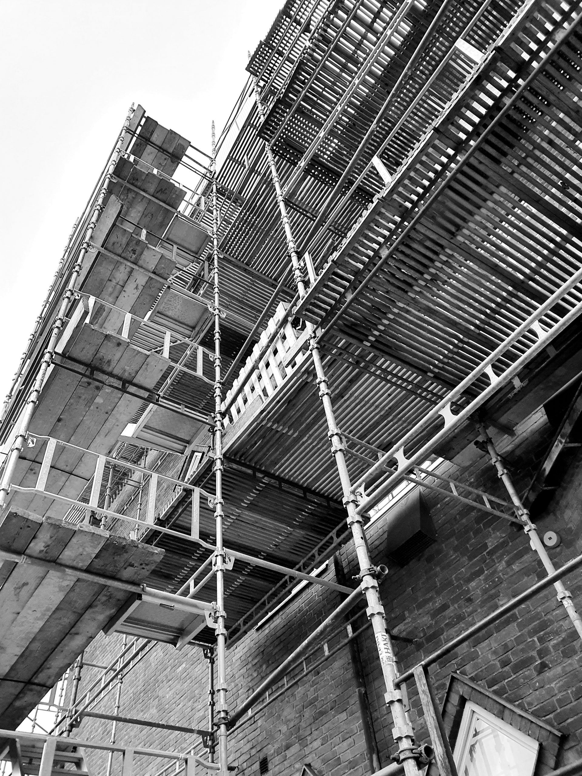 Byggställning